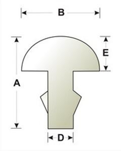 Изображение Нейзильберовые лады традиционные шириной 2.5 мм