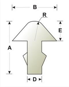 Изображение Нейзильберовые лады треугольные стандартной твердости шириной 2,8 мм