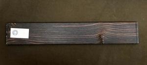Изображение Эбен макассар, бланк накладки грифа гитары.