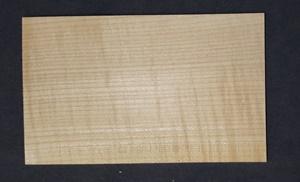 Изображение Клен, заготовка накладки головки грифа гитары