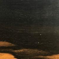 Изображение Эбен (черное дерево), бланк накладки грифа гитары.